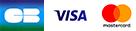 CB, Visa, Mastercard